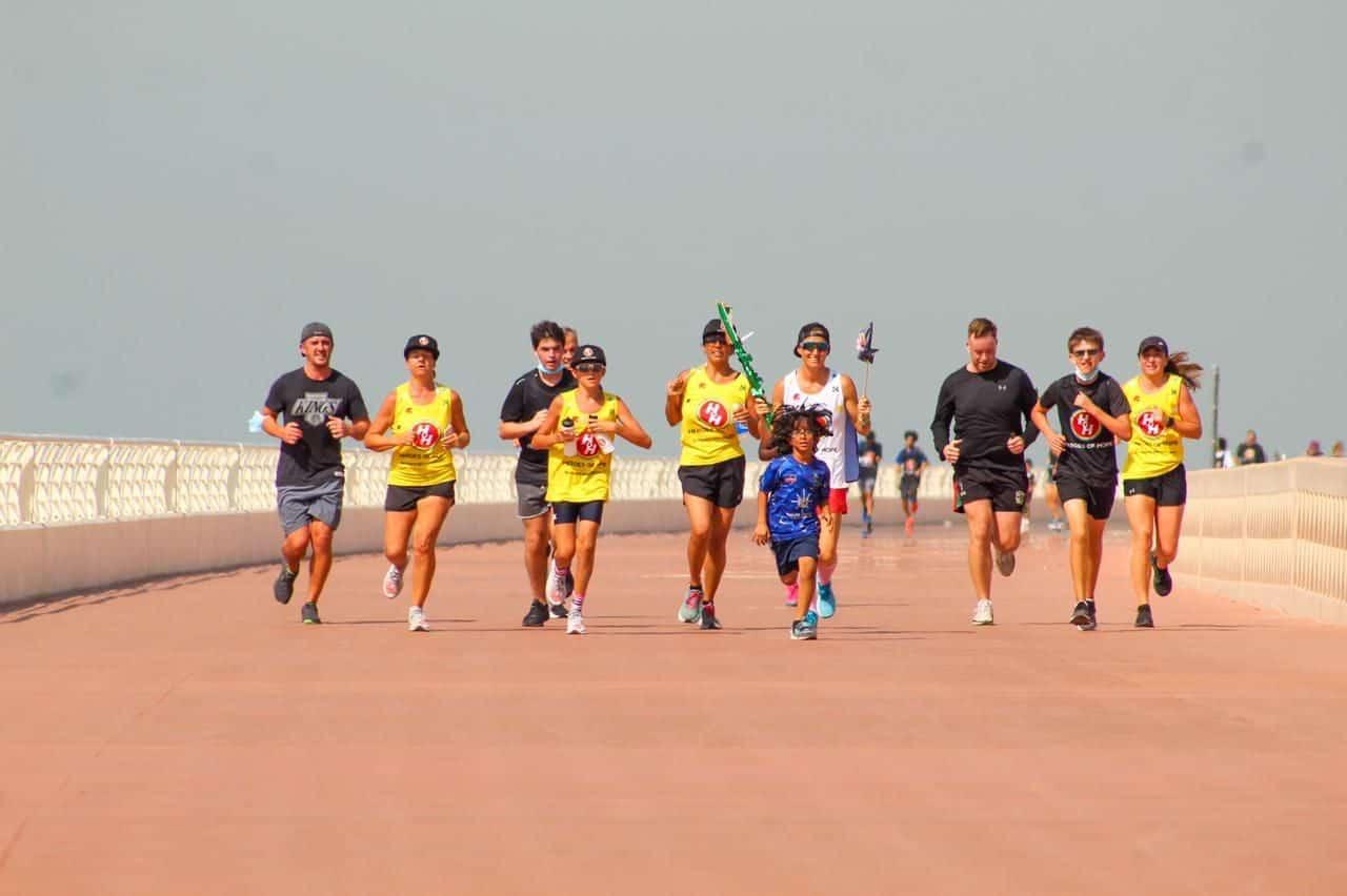 7 Marathons in 7 Days for Children of Determination UAE Dubai